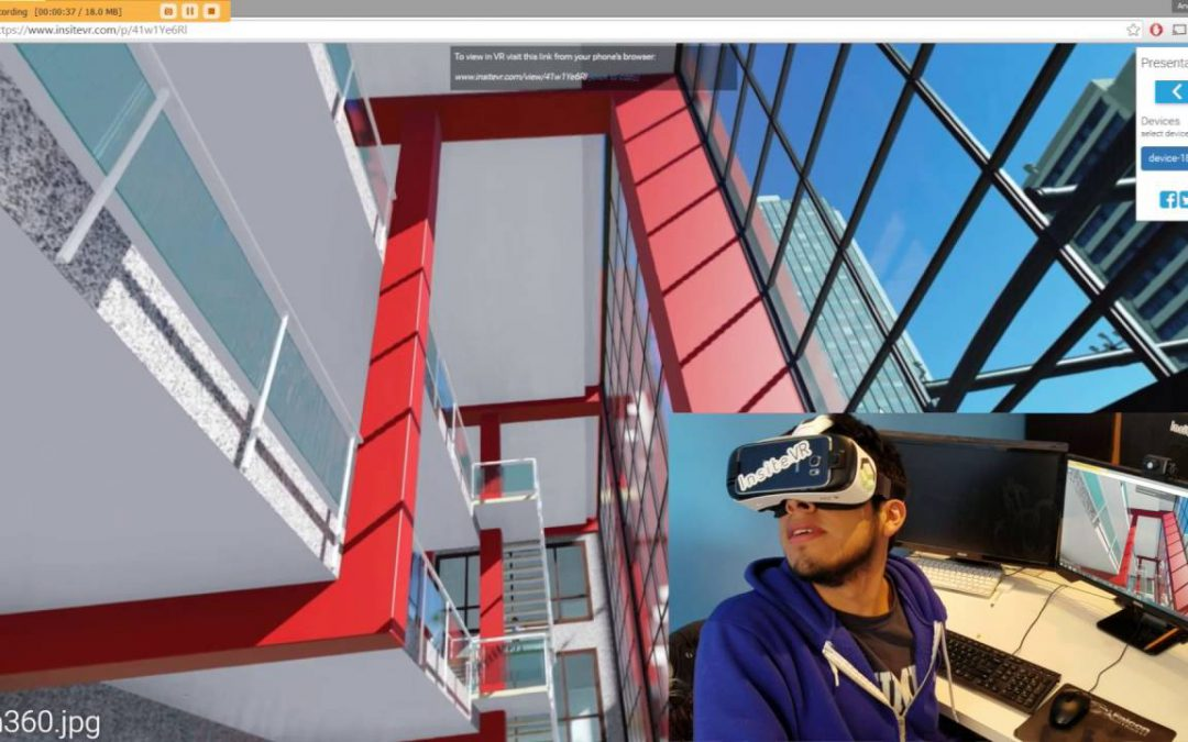 Tutorial withInsiteVR and Gear VR for Lumion