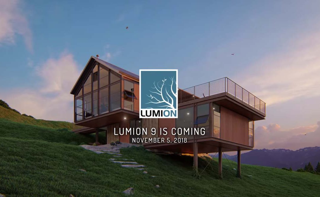 New Lumion 9 teaser video and release date revealed!