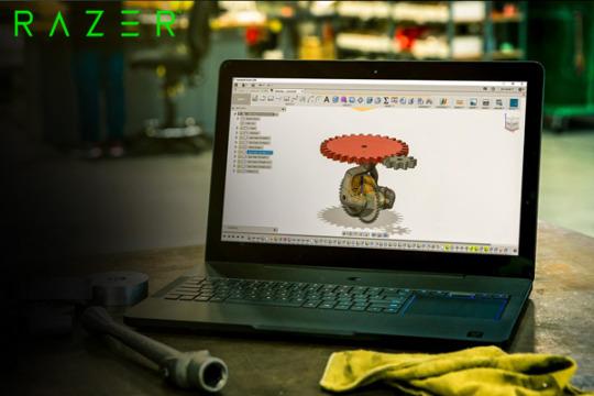 Razer Laptop 3D Rendering Computer   Lumion 3D Rendering Software