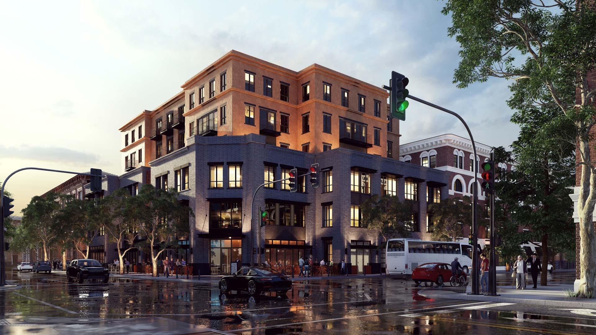 Ten Over Studio Downtown Development