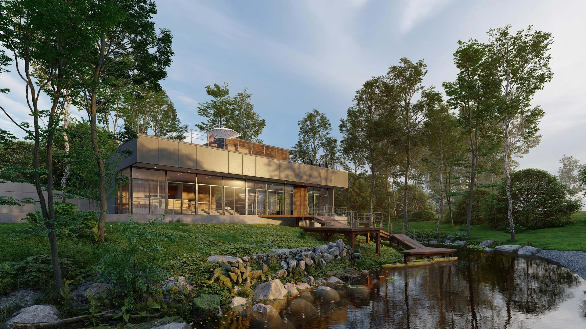 House on the River | Lumion Architectural Visualization 2