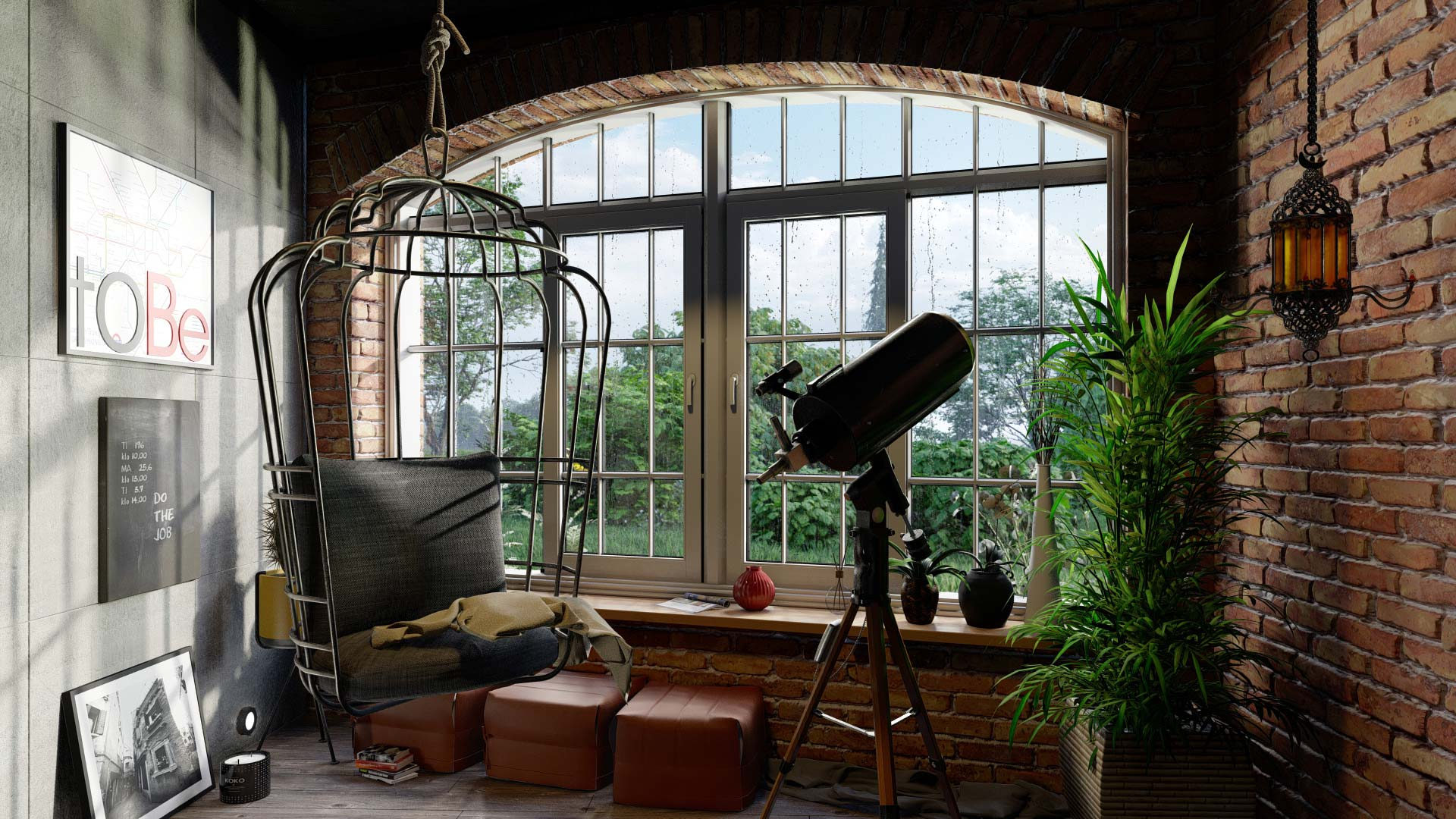 Interior   Lumion Rain Streaks Feature