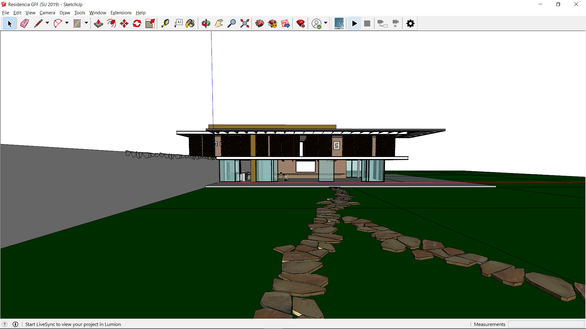 Residential Home Design in SketchUp