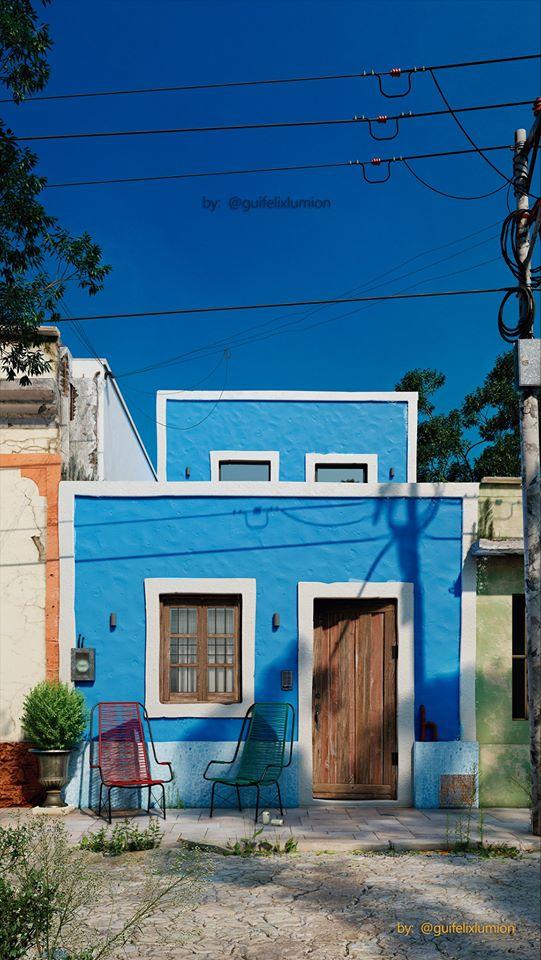 House in Brazil, rendered by Gui Felix