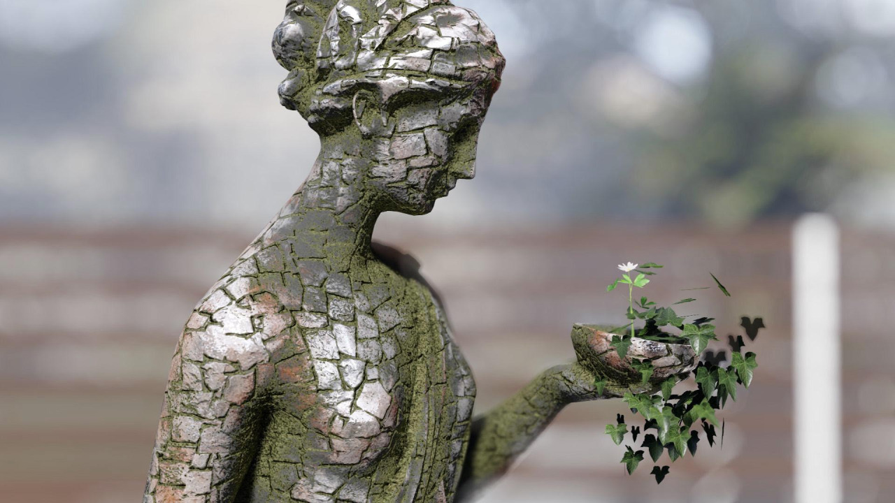 Weathering and Statue 2