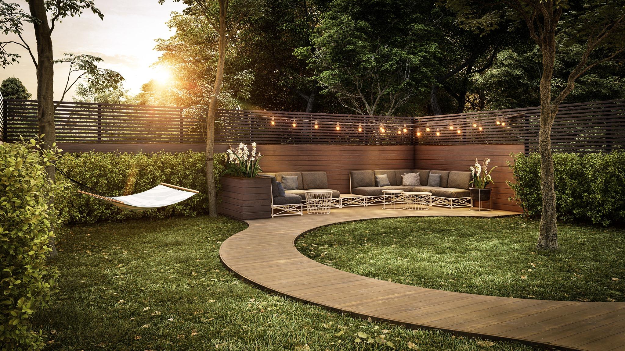 Backyard design by  Stephan Pavlov