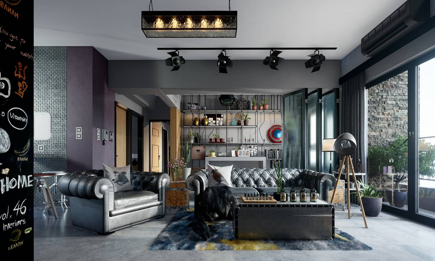 Living Room Interior | Lifestyle, personalized | Rendered in Lumion