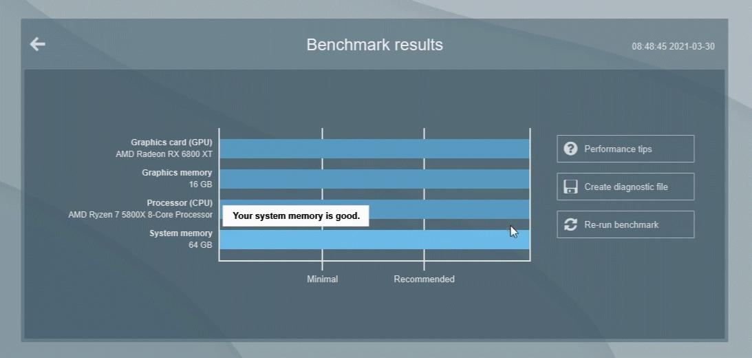 Render advice   Lumion performance   Benchmark