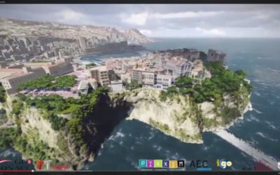 Monaco visualized with Lumion