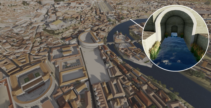 See ancient Rome brought to life through SketchUp and Lumion