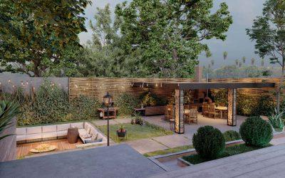 Project Breakdown: Residential Backyard from Lumion 10.5
