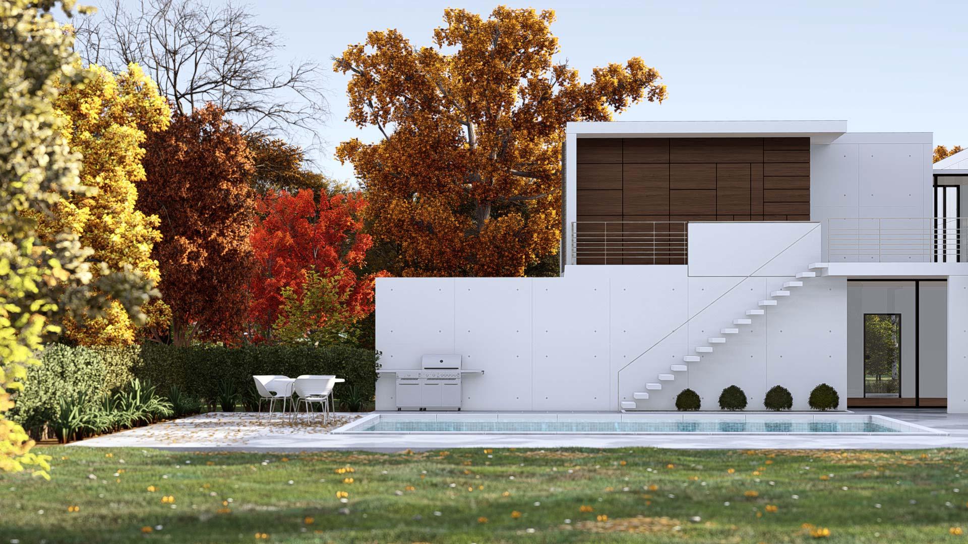 Villa Wegner | Side View