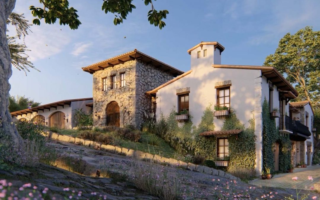 Project Breakdown: Countryside Villa from Lumion 10.3