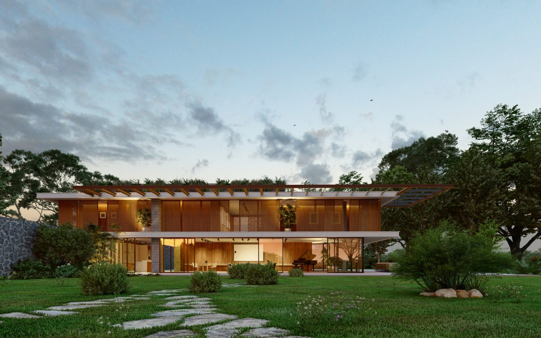 How to create atmospheric architectural renders using Real Skies