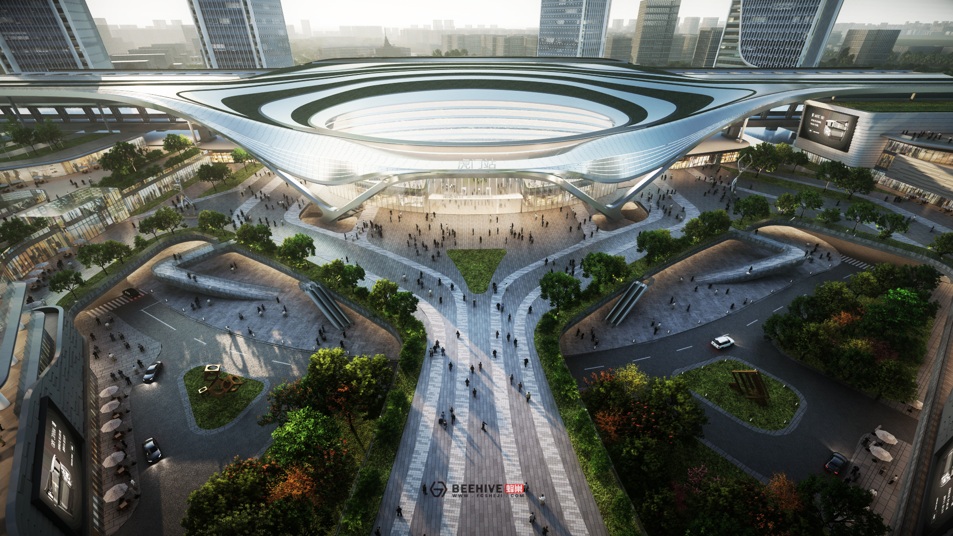 Humen High-Speed Rail Station Expansion Project Master Plan